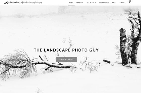 Website voor fotograaf laten maken