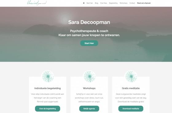psychotherapeut website laten maken