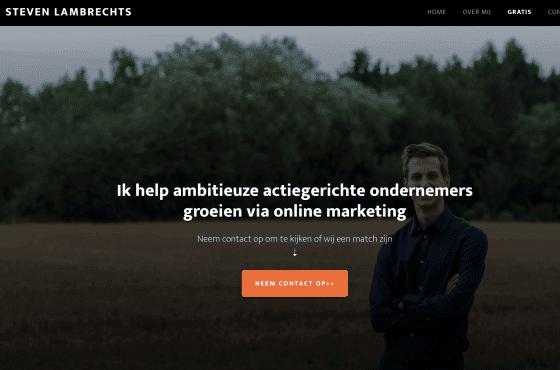 website laten maken Consultant
