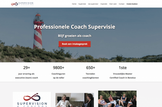 website laten maken trainer coach