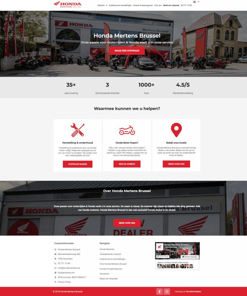 Motordealer professionele website laten maken