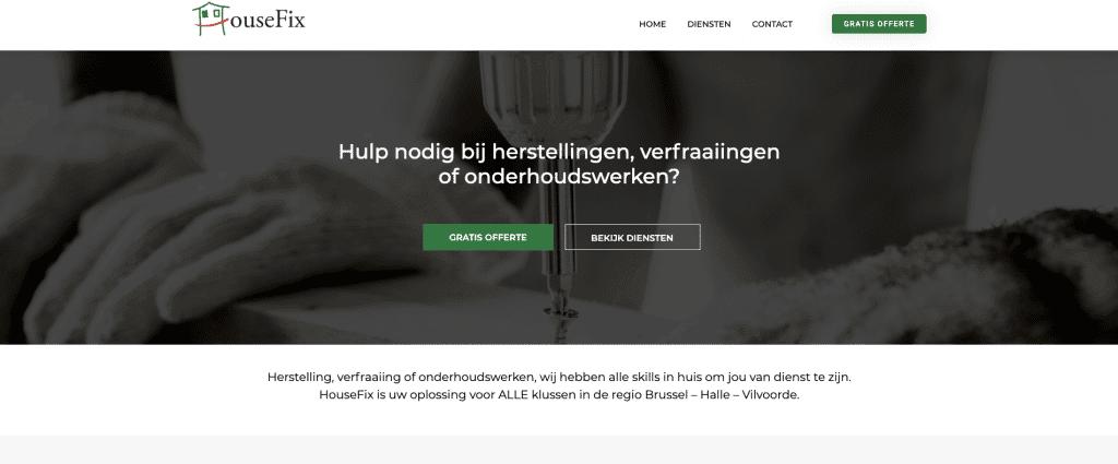 bouwsector website laten maken