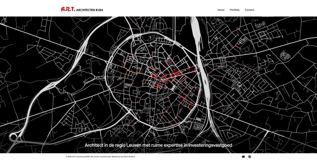 archtitectenbureau webdesign